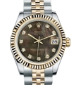 31 mm Rolex 178273BKMDJ Ladies Luxury Watches