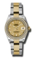 31 mm Rolex 178383CSO Ladies Luxury Watches