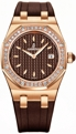 33 mm Audemars Piguet 67601OR.ZZ.D080CA.01 Ladies Luxury Watches