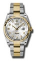 36 mm Rolex 116233SJDO Mens Luxury Watches
