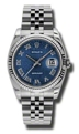 36 mm Rolex 116234BLJRJ Mens Luxury Watches