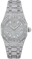 Audemars Piguet Royal Oak 67604BC.ZZ.1211BC.01 Ladies 33 mm Luxury Watches