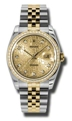 Automatic Rolex Datejust Ladies 36 mm Casual Watches
