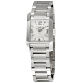 Baume et Mercier Diamant 08568 Polished Satin-Finished Steel Dress Watches