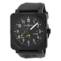 Bell and Ross Aviation BR0197-CLIMB Mens Black Luxury Watches