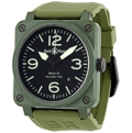 Bell and Ross Aviation BR0392-CERAM-MIL Sapphire Luxury Watches