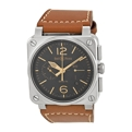 Bell and Ross Aviation BR0394-ST-G-HE/SCA Mens Automatic Luxury Watches