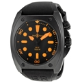 Bell and Ross Marine BR0292-ORANGE Black PVD Steel Casual Watches
