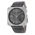 Bell and Ross Vintage BRS92-RU-ST/SCR Stainless Steel Luxury Watches