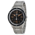 Bell and Ross Vintage BRV123-ST-HER/SST Black Luxury Watches