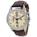 Bell and Ross Vintage BRV126-BEI-ST-SCA 41 mm Casual Watches
