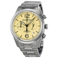 Bell and Ross Vintage BRV126-BEI-ST/SST Mens Stainless Steel Luxury Watches