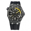 Black Audemars Piguet Royal Oak Offshore 15706AU.OO.A002CA.01 Casual Watches Mens