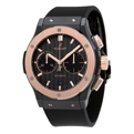 Black Carbon Fiber Hublot Classic Fusion 521.CO.1781.RX Luxury Watches Mens