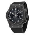 Black Carbon Fiber Hublot Classic Fusion Luxury Watches Mens