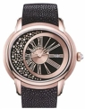 Black dial set with diamonds Audemars Piguet Millenary 15331OR.OO.D001GA.01 Luxury Watches Mens