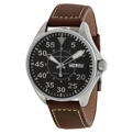 Black Hamilton Khaki Pilot H64425535 Casual Watches Mens