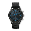 Black IWC Pilots Watches IW388003 Luxury Watches Mens