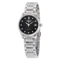Black Longines Master Collection L21284576 Dress Watches Ladies