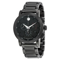 Black Movado 0607001 Sport Watches Mens