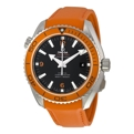 Black Omega Seamaster Planet Ocean 232.32.46.21.01.001 Luxury Watches Mens