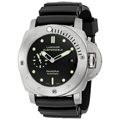 Black Panerai Luminor 1950 PAM00305 Sport Watches Mens
