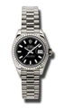 Black Rolex Datejust 179179BKSP Casual Watches Ladies