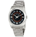 Black Rolex Oyster Perpetual No Date 116000BKCOAO Luxury Watches Mens