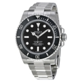 Black Rolex Submariner 114060 Luxury Watches Mens