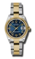 Blue Rolex Datejust 178243BLCAO Luxury Watches Ladies