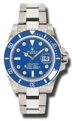 Blue Rolex Submariner 116619BLDO Luxury Watches Mens