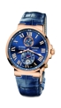 Blue Ulysse Nardin Maxi Marine 266-67-43 Luxury Watches Mens