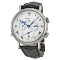 Breguet Classique 5707BB129V6 Mens Silver Guilloche Luxury Watches