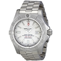 Breitling Avenger Mens Silver Luxury Watches