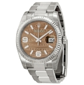 Bronze Jubilee Rolex Datejust 116234 Luxury Watches Ladies