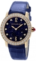 Bvlgari 102162 Ladies Blue Aventurine Luxury Watches