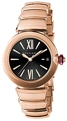Bvlgari 102190 Ladies 18k Pink Gold Luxury Watches