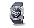 Bvlgari 102229 Blue Lacquered Polished Luxury Watches