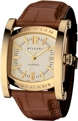 Bvlgari AA44C13GLD Mens Scratch Resistant Sapphire Luxury Watches