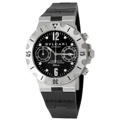 Bvlgari Diagono SC38SV/SLN Stainless Steel Sport Watches