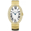 Cartier Baignoire WB520021 Ladies Silver Luxury Watches