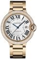 Cartier Ballon Bleu de Cartier WE9008Z3 Mens Silver Opaline Luxury Watches