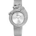 Cartier Bestiaire HPI00341 Ladies 18 Carat White Gold Set with Diamonds Luxury Watches