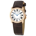 Cartier Ronde Louis Cartier W6800151 18kt Rose Gold Luxury Watches