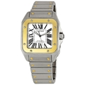 Cartier Santos de Cartier W200728G Mens 38 mm x 38 mm Luxury Watches