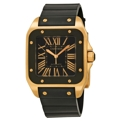 Cartier Santos de Cartier W20124U2 Mens Black Luxury Watches