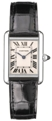 Cartier Tank W1540956 Mens 18kt White Gold Luxury Watches