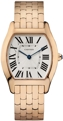 Cartier W1556366 Ladies Silvered Guilloché Luxury Watches