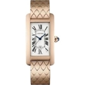 Cartier W2620032 Ladies 18 Carat Pink Gold Luxury Watches