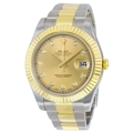 Champagne Rolex Datejust II 116333CDO Casual Watches Mens